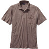 Patagonia M's Squeaky Clean Polo Fathom/Oaks Brown